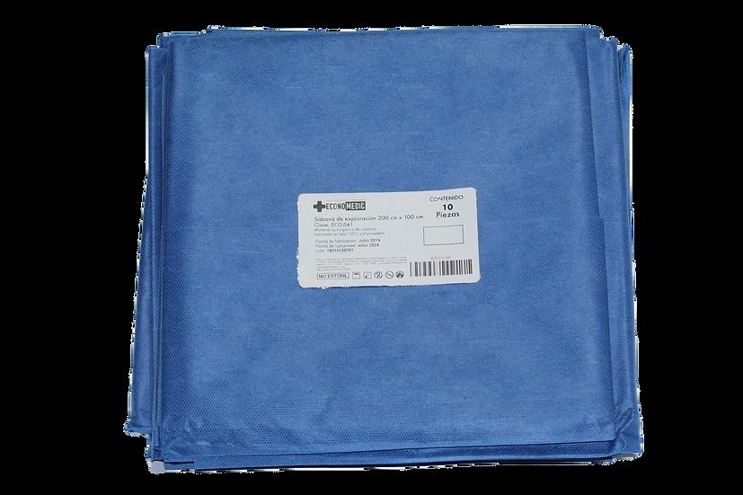 Paquete de 10 Sabanas de exploración 200 cm x 100 cm