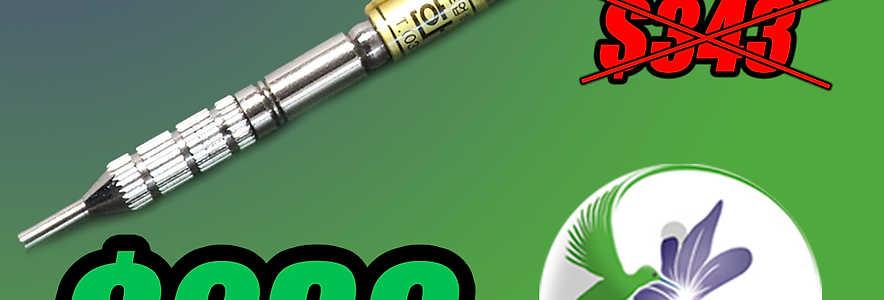 Aplicador de agujas de 7mm por gravedad