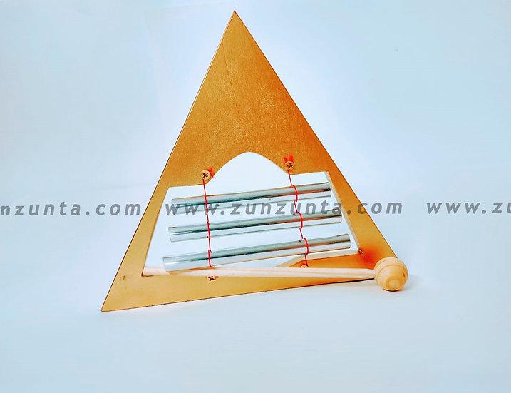 Diapasón de 3 notas en forma de Triángulo