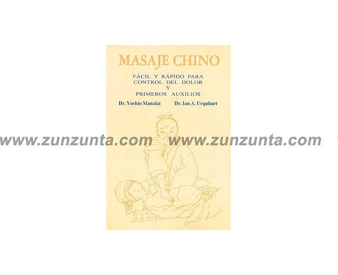 """Libro """"Masaje chino fácil y rápido para el control de dolor"""""""