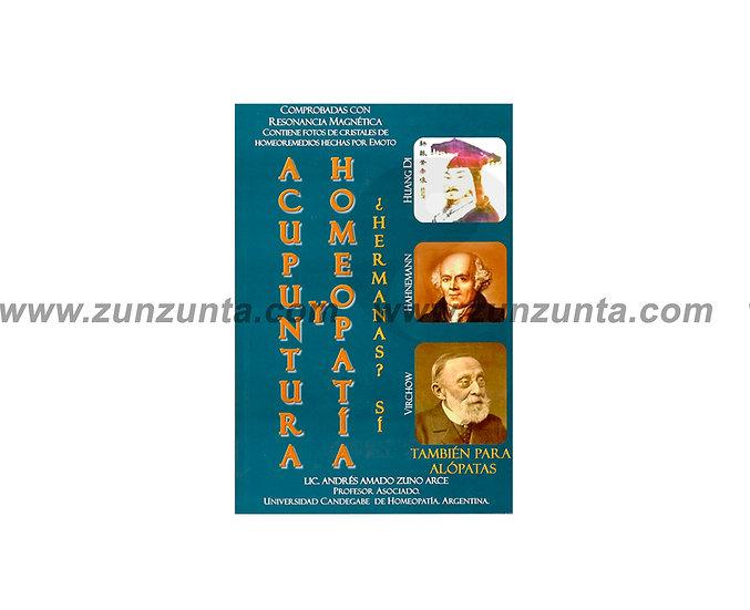 """Libro """"Acupuntura y homeopatía hermanas"""""""