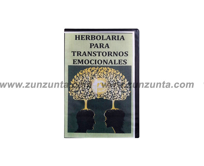 """DVD """"Herbolaria para transtornos emocionales"""""""