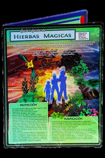 Guía rápida Hierbas Magicas