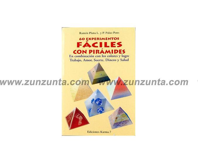 """Libro """"60 Experimentos fáciles con pirámides"""""""