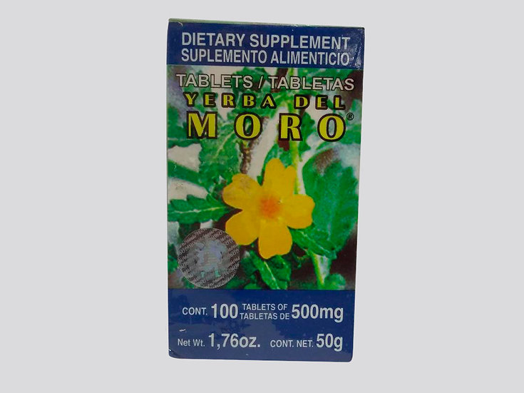 Yerba del Moro 100 tabletas