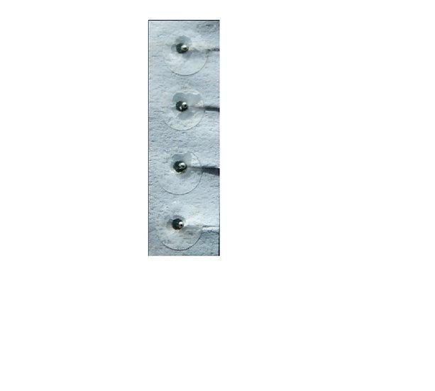 Parche transparente suave con balines (100 pzs)