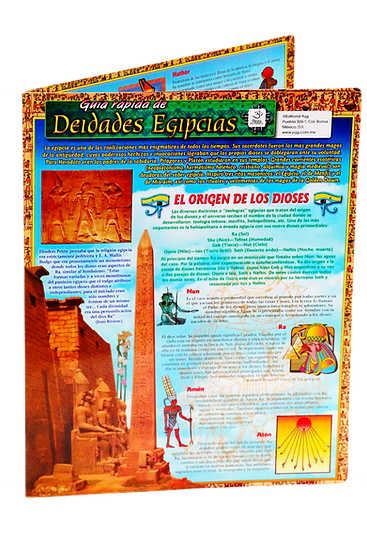 Guía rápida de Deidades Egipcias