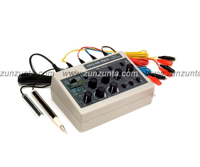 AWQ -104L Electro Estimulador Digital para Acupuntura, 4 salidas