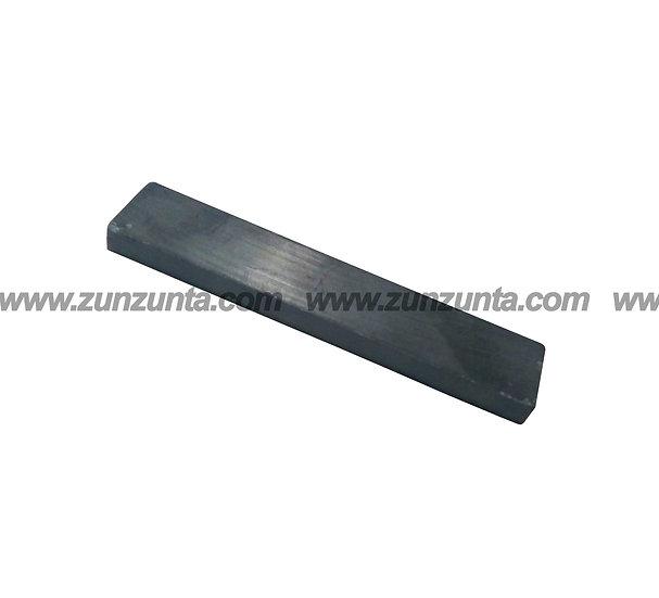 Imán de Ferrita Rectangular 100 mm x 20 mm x 7 mm