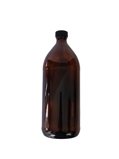 Botella ámbar 1LT