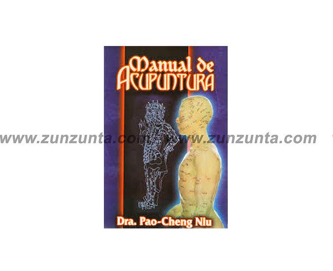 """Libro """"Manual de acupuntura"""""""