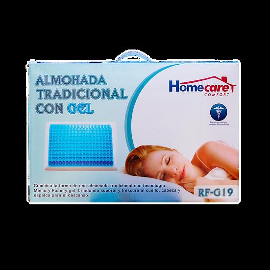 "Almohada Tradicional con Gel ""Homecare"""