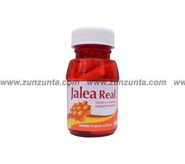 """Jalea real """"Gelcaps"""" 50 CAPS"""