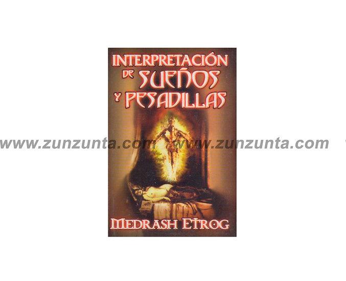 """Libro """"Interpretación de sueños y pesadillas"""""""