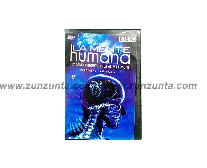 "DVD ""La mente humana"""