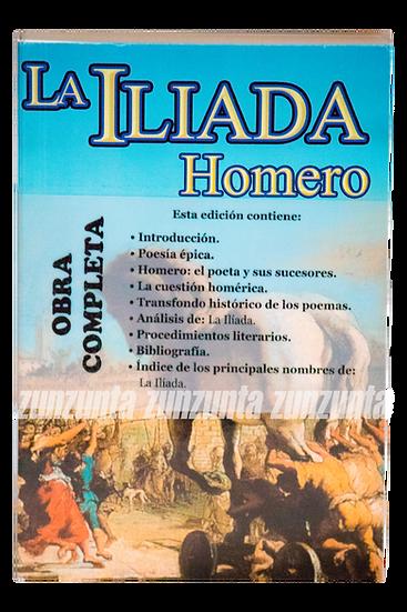 LA ILIADA HOMERO