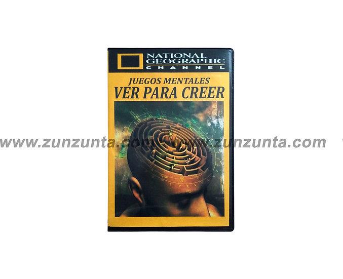 """DVD """"Juegos mentales ver para creer"""""""