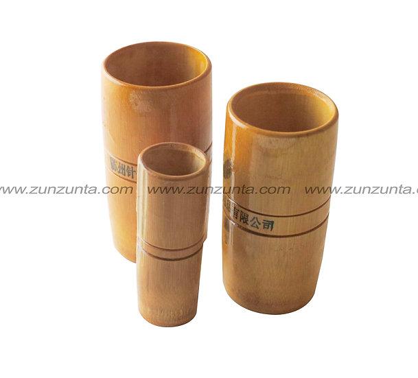 3 Ventosas de bambú (medidas 1, 2 y 3)