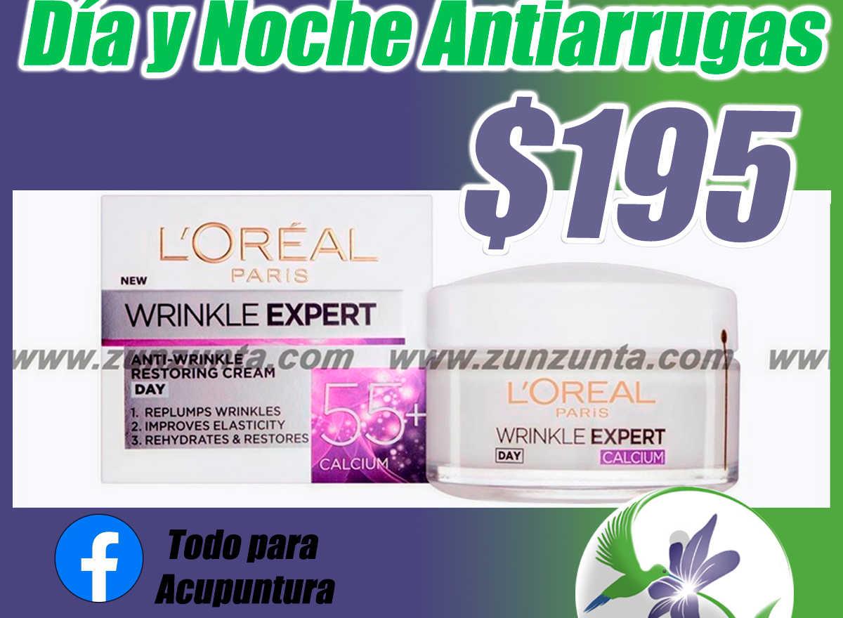 Crema Loréal Paris Wrinkle Expert Day/night Anti-arrugas