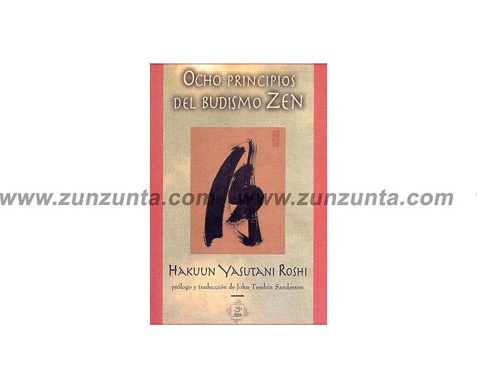 """Libro """"Ocho principios del Budismo Zen"""""""