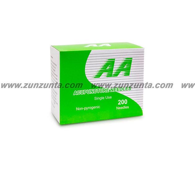 Agujas de Acero AA 200pz (Hasta 1.5 pulgadas)