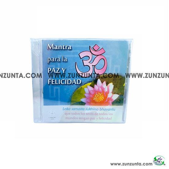 CD Mantra Para la Paz y la Felicidad