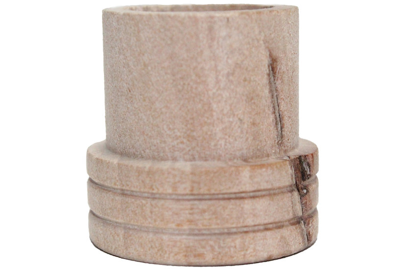 Base y apaga moxa de madera