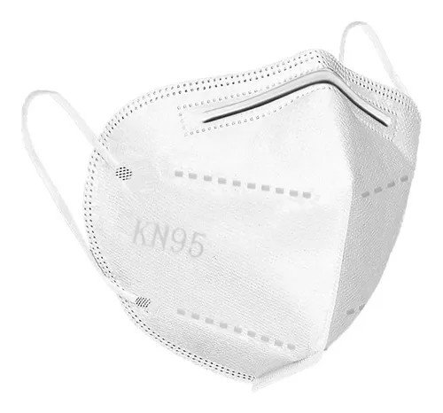 10 Cubrebocas KN95 5 Capas *Respirador de alta Eficiencia