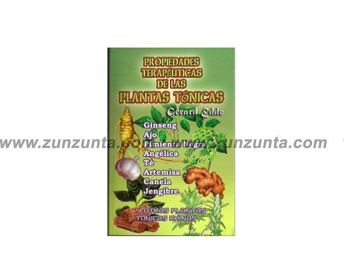 """Libro """"Propiedades terapéuticas de las plantas tónicas"""""""