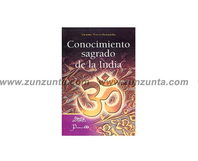 """Libro """"Conocimiento sagrado de la India"""""""