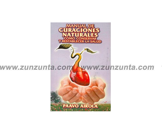"Libro ""Manual de curaciones naturales"""