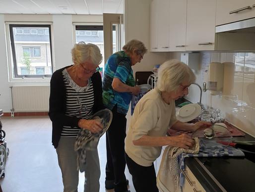 Help! de afwasmachine is stuk!