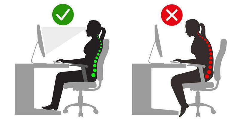 Comment s'installer à son bureau pour limiter les douleurs ?