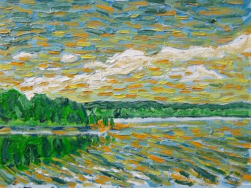 Morning on Stoco Lake Tweed Ontario