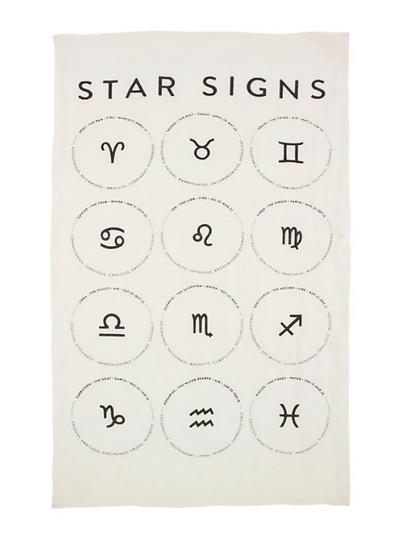 Star Signs Tea Towel