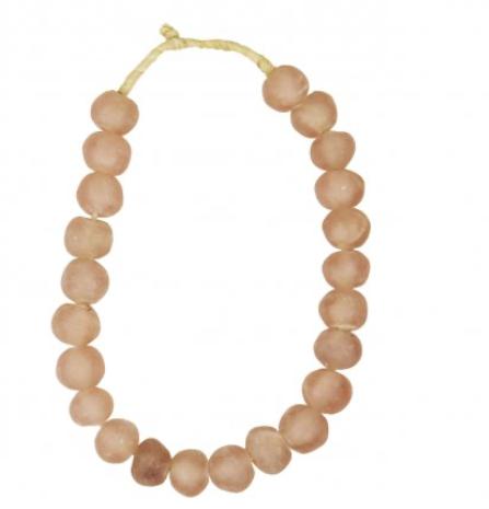 Large Pink  beads