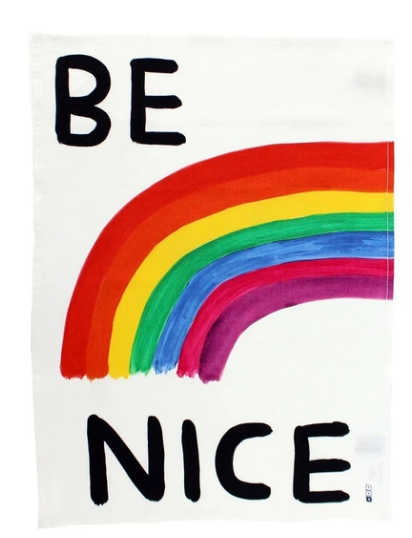 Be Nice Tea Towel