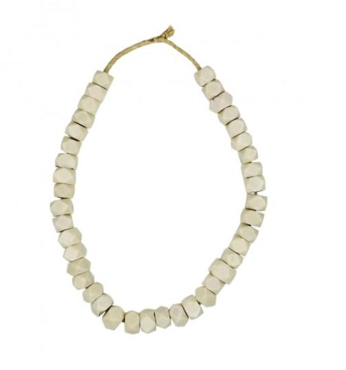 beads white