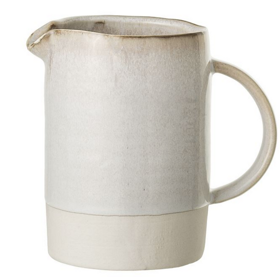 Stoneware Carrie Pitcher