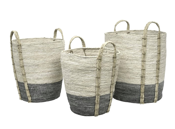 Shore Storage Baskets, Grey