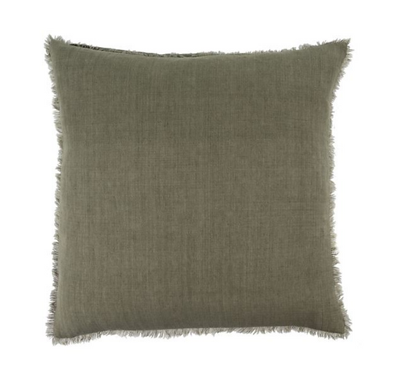 24x24 Linen Pillow, Laurel