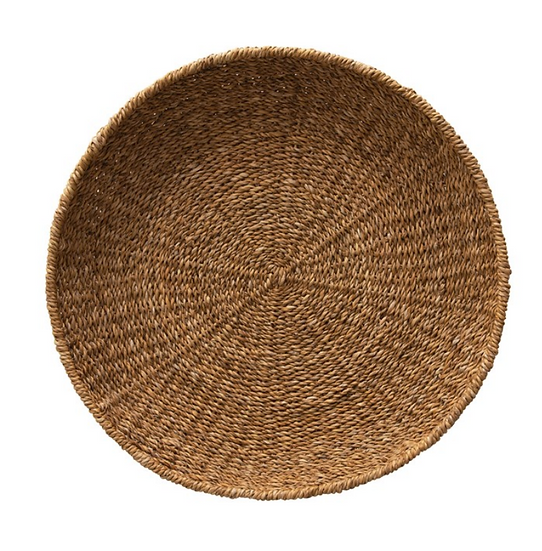 Hand-Woven Decorative Seagrass Tray