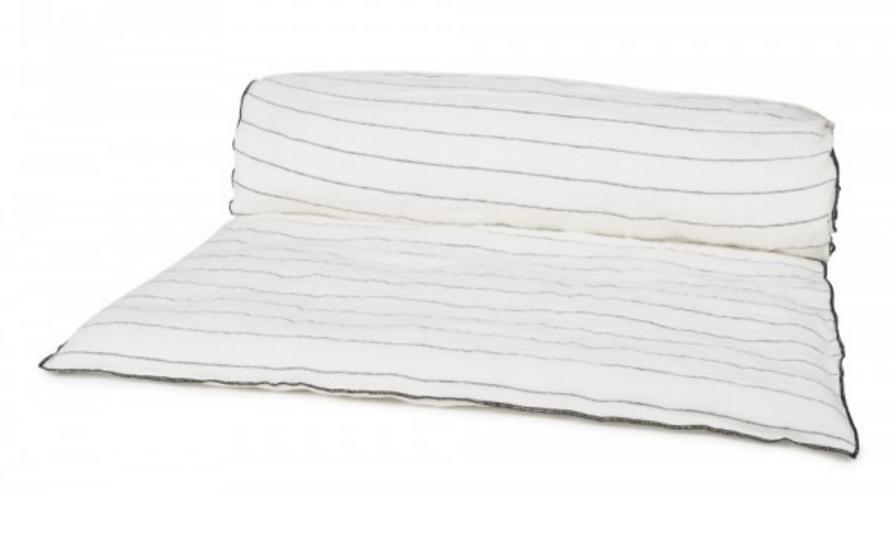 Linen Quilt-Blanc
