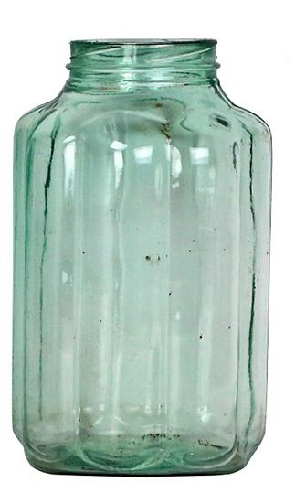 Ribbed Pickling Jar