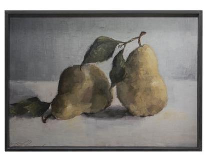 Framed Wall Decor w/ Pear #2