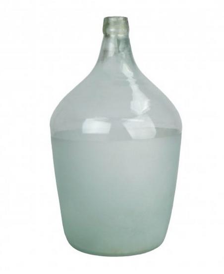Half Frost Demijohn Bottle