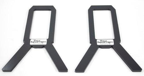 2X4 Target Stand support plates