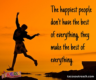The happiest people don't have the best