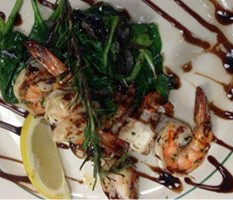 Niks shrimp dish