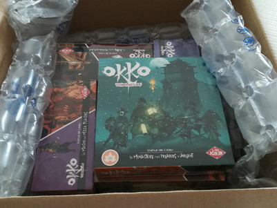 Unboxing Okko Chronicles (by the Red Joker)
